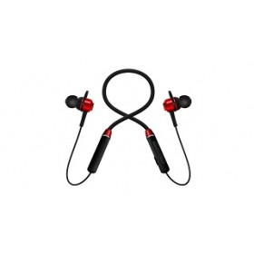 CLIPTEC BNE261 NECKBAND WIRELESS  EARPHONE RED