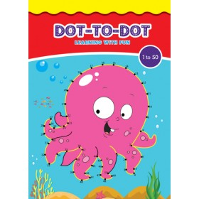 DOT TO DOT LEARNING WITH FUN (1 TO 50)