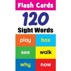 FLASH CARD: 120 SIGHT WORDS