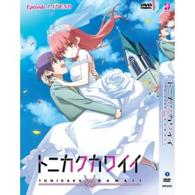 TONIKAKU KAWAII EP1-12END (DVD)