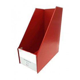 "POP BAZIC MAGAZINE HOLDER 5"" RED"