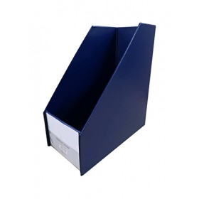 "POP BAZIC MAGAZINE HOLDER 5"" DARK BLUE"
