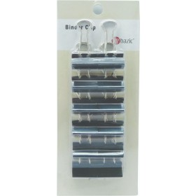 POP BAZIC BLACK BINDER CLIP 19MM 12 PIECES