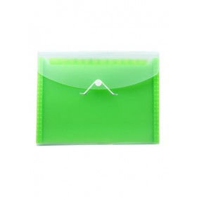 POP BAZIC EXPANDING FILE A4 13 POCKETS GREEN