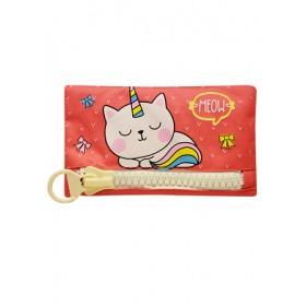 BIG ZIPPER BAG -CAT SGP-15144-R