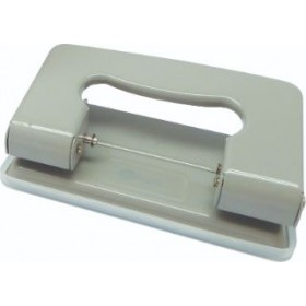 POP BAZIC TWO HOLE PUNCH SMALL - GRAY