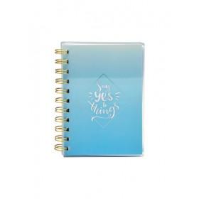 PVC WIRE-O NOTE BOOK A6 80 GRAM 80 SHEET COLOR 4-A6
