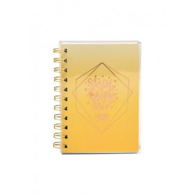 PVC WIRE-O NOTE BOOK A6 80 GRAM 80 SHEET COLOR 5-A6