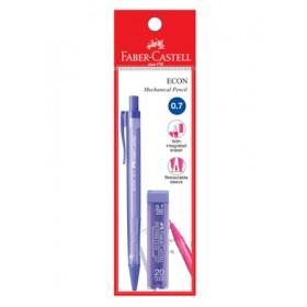 Faber-Castell 134202 Econ 0.7mm Mechanical Pencil + Pencil Lead