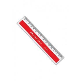 FABER-CASTELL PLASTIC RULER 15CM