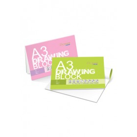 CAMPAP DRAWING BLOCK A3 200GSM 20 SHEETS