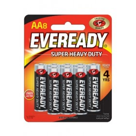 EVEREADY SHD AA BATTERY 8'S