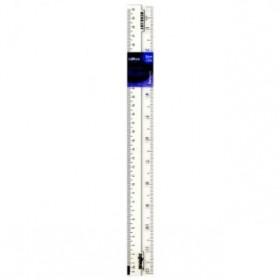 "DOLPHIN STRAIGHT RULER 12""(30CM) DOL-230083"