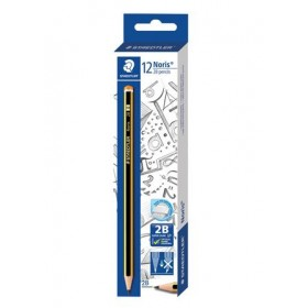 STAEDTLER Noris 2B Pencils 12 Pieces in Box