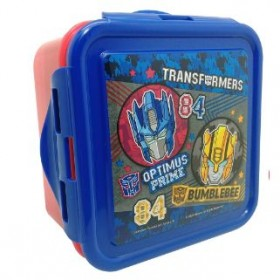 TRANSFORMER SQUARE LUNCH BOX