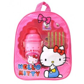 HELLO KITTY BACKPACK STATIONERY SET