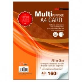 UNI S19 Multipurpose A4 Card 160gsm 40 sheets