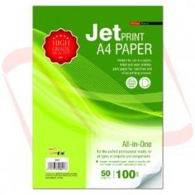 UNI S43 Jetprint A4 Paper 100gsm 50 sheets
