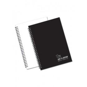 UNI ART & DECOR SKETCH BOOK A4 150GSM 40 SHEETS