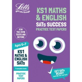 KS1 SATs Practice Test Papers -Maths and English Ages 6 - 7