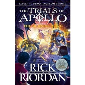 TRIALS OF APOLLO #03 BURNING MAZE