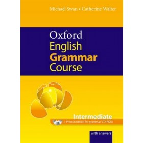 Oxford English Grammar Course: Intermediate: with Answers CD-ROM Pack