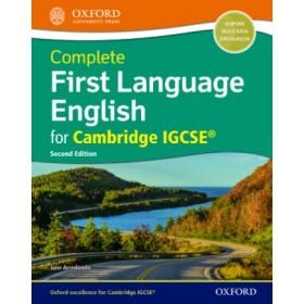Complete First Language English for Cambridge IGCSE Workbook
