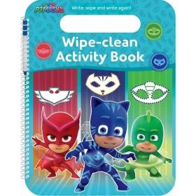 PJ MASKS WIPE-CLEAN ACTIVITY BOOK - PC
