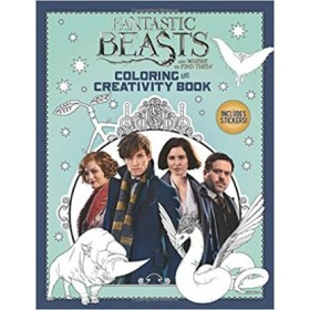 Fantastic Beasts And Where To Find Them - Coloring And Creativity Book