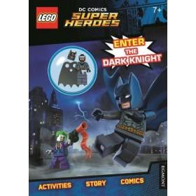 LEGO (R) DC Comics Super Heroes: Enter the Dark Knight (Activity Book with Batman minifigure)