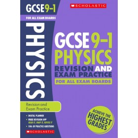 GCSE 9-1 Physics Revision Guide and Exam Practice Book for All Exam Boards