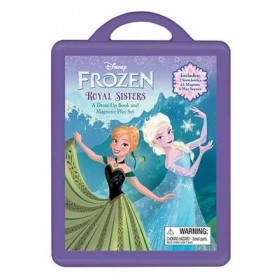 Frozen Frozen Book and Magnetic Play Set: A Dress-Up Book and Magnetic Play Set