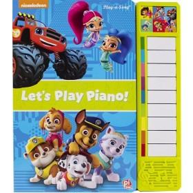 NICK JUNIOR LITTLE PIANO BOOK