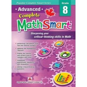 Grade 8 Advanced Complete Math Smart