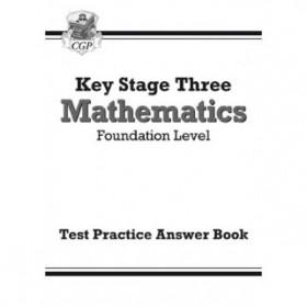 KS3  Foundation Level Answer Test Practice Workbook - Maths