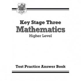 KS3  Higher Level Answer Test Practice Workbook - Maths