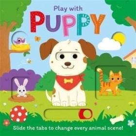 P-PEEKABOO SLIDERS: PLAY WITH PUPPY