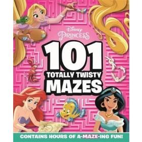 DISNEY PRINCESS: 101 TOTALLY TWISTY MAZE