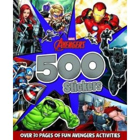 MARVEL AVENGERS 500 STICKERS