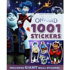 DISNEY PIXAR ONWARD 1001 STICKERS