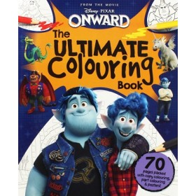 DISNEY PIXAR ONWARD ULTIMATE COLOURING