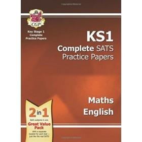KS1 COMP' SATS PRAC PAPERS MATHS&ENG '17
