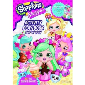 Shopkins Shoppies Press Out & Play Activity Book