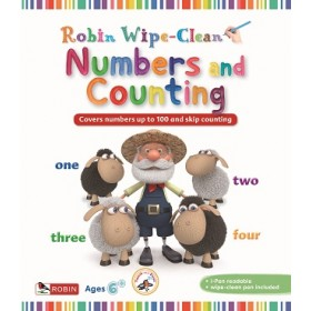ROBIN WIPECLEAN: NUMBERS & COUNTING