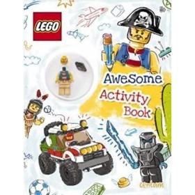 P-LEGO ACT DOODLE BK+MINIFIGURE