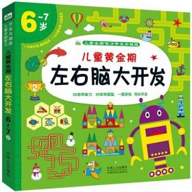 儿童全脑智力开发关键题:儿童黄金期左右脑大开发(6-7岁)