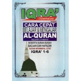 IQRA' DIPERHALUSI (IQRA' 1-6)