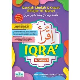 IQRA' 6 DALAM 1 (EDISI BAHARU)