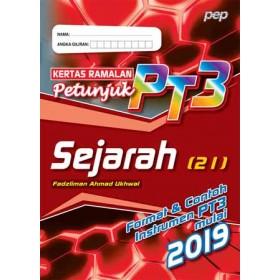 KERTAS RAMALAN PETUNJUK PT3 SEJARAH