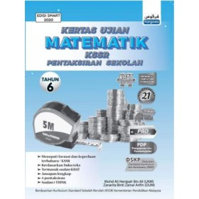 Tahun 6 Kertas Ujian Matematik